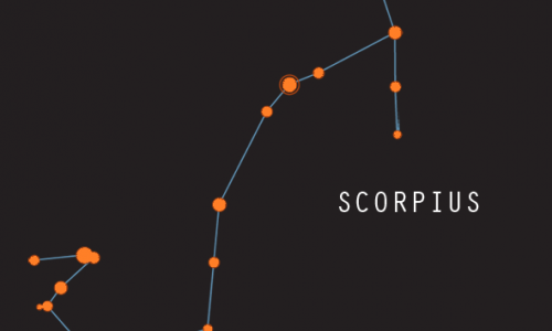 The legend of Scorpius and Orion