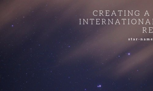 Creating a truly International Star Registry