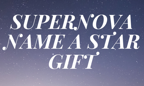 The Supernova Name A Star Gift Set