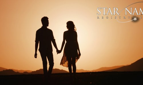 TEN reasons why a 'NAME A STAR' gift will dazzle your partner