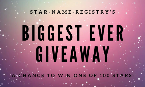 OUR BIGGEST EVER GIVEAWAY - 100 STARS!