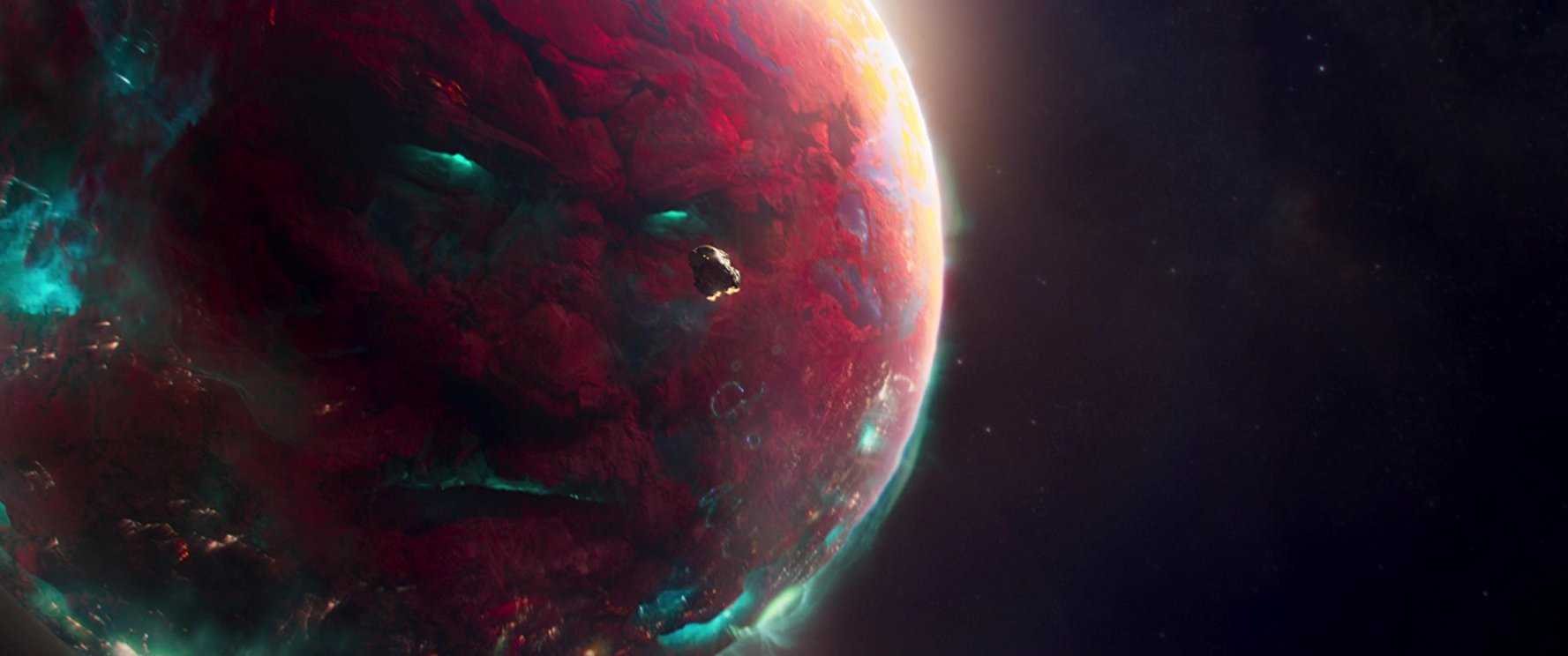 Dying Planet Science Fiction Concept Art