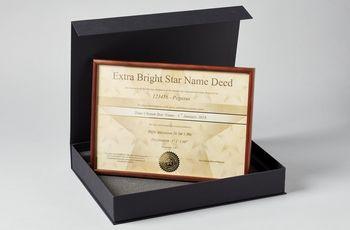 Star name registry extra bright star gift set