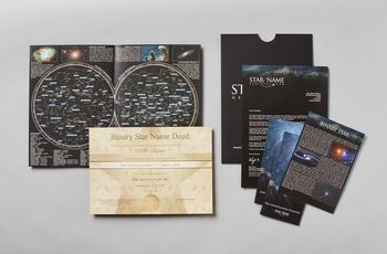 Star name registry pack contents binary star
