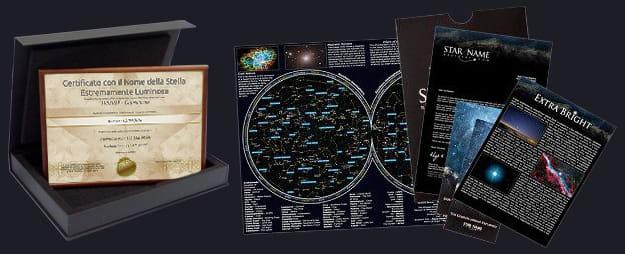 Set Regalo Stella Estremamente Luminosa Package