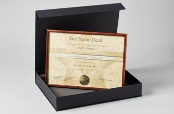Star name registry standard star gift set