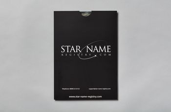 Star name registry document folder