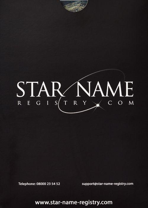 Star Register welcome letter