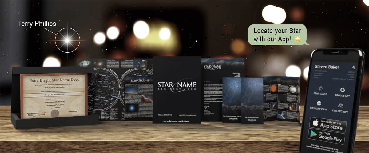Star Name Registry Gift Sets UK