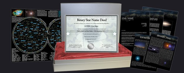 Binary Star Gift Set Package