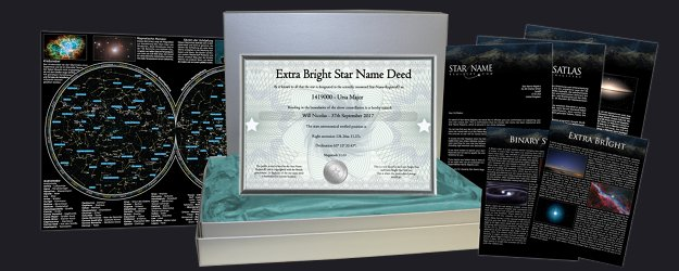 Extra Bright Star Gift Set Package